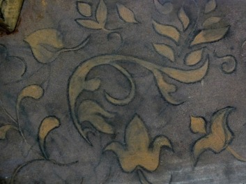 3. Une Scie (Detail-2 Egraving) -Stéphanie McKnight