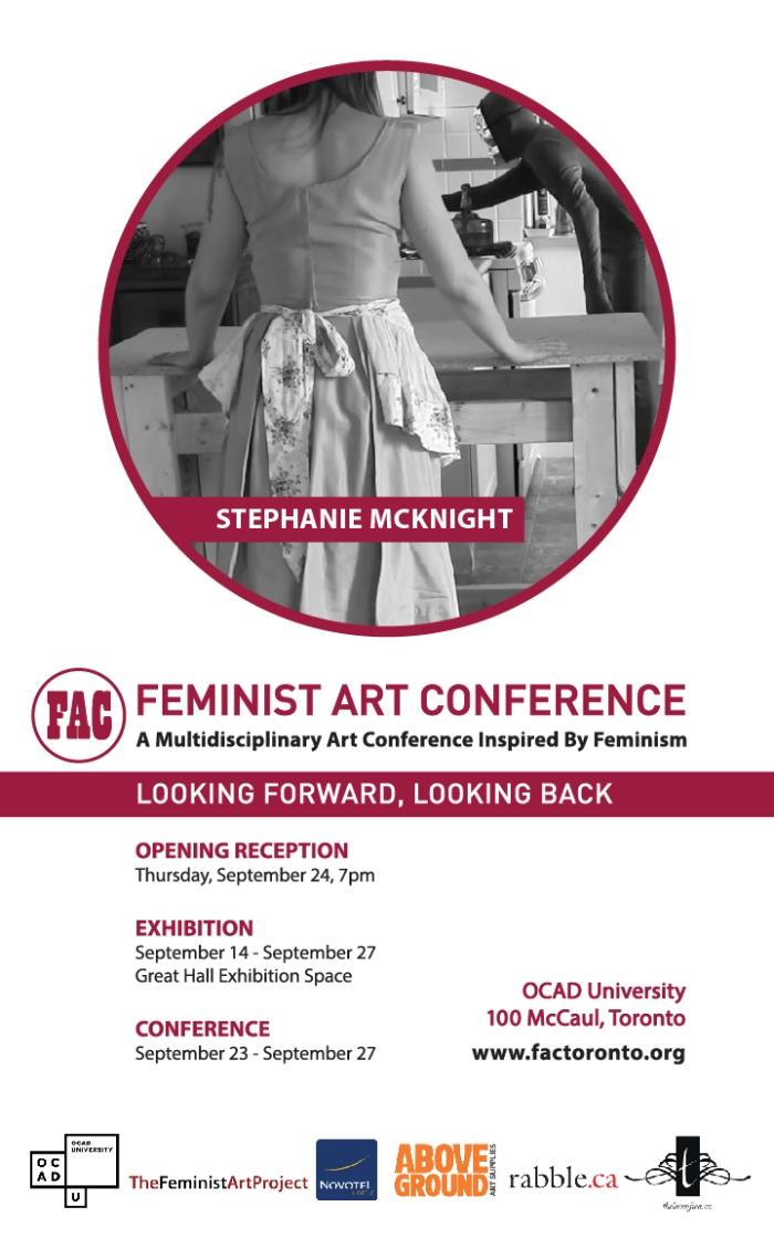 Feminist Art Conference Exhibition 14 - 27 September
